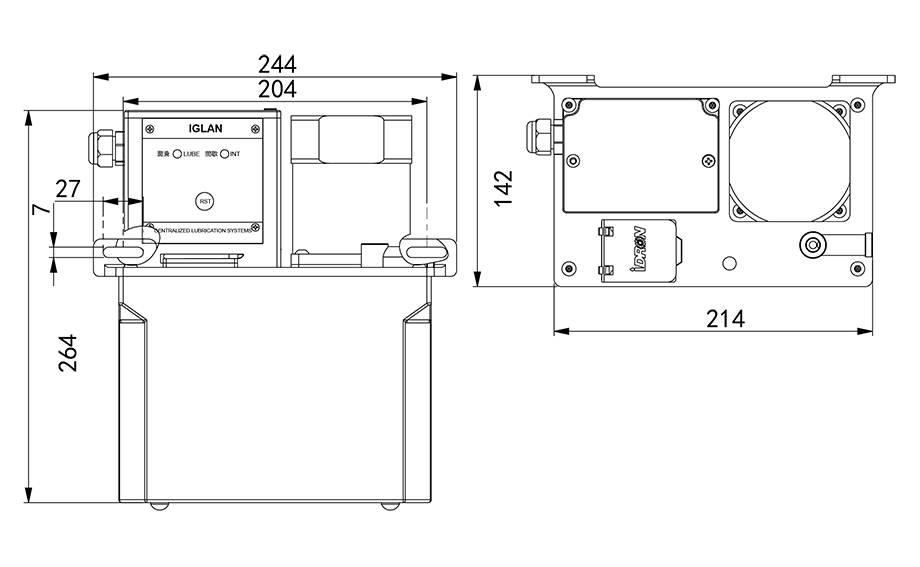 AMT3-plc-lubrication pump